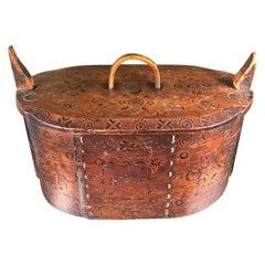 Norway Tine Bentwood Box, 1890