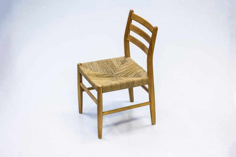 Norwegian 1960s Dining Chairs in Pine by Harry Moen For Sale 5