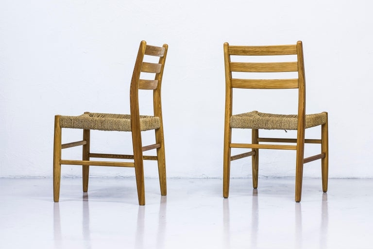 Norwegian 1960s Dining Chairs in Pine by Harry Moen For Sale 6