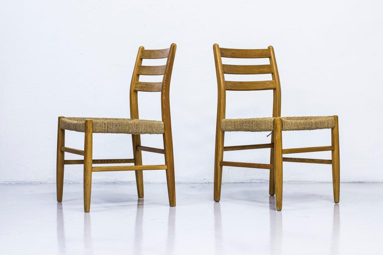 Norwegian 1960s Dining Chairs in Pine by Harry Moen For Sale 7