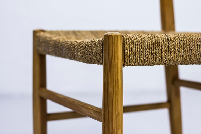Norwegian 1960s Dining Chairs in Pine by Harry Moen For Sale 1
