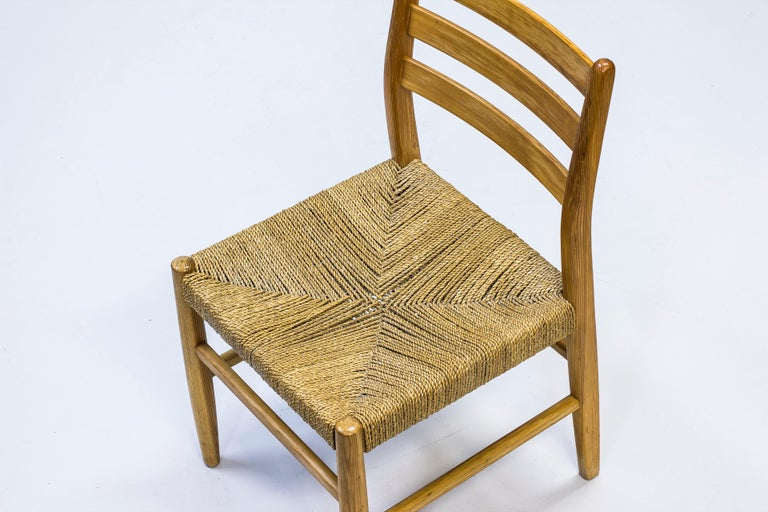 Norwegian 1960s Dining Chairs in Pine by Harry Moen For Sale 4