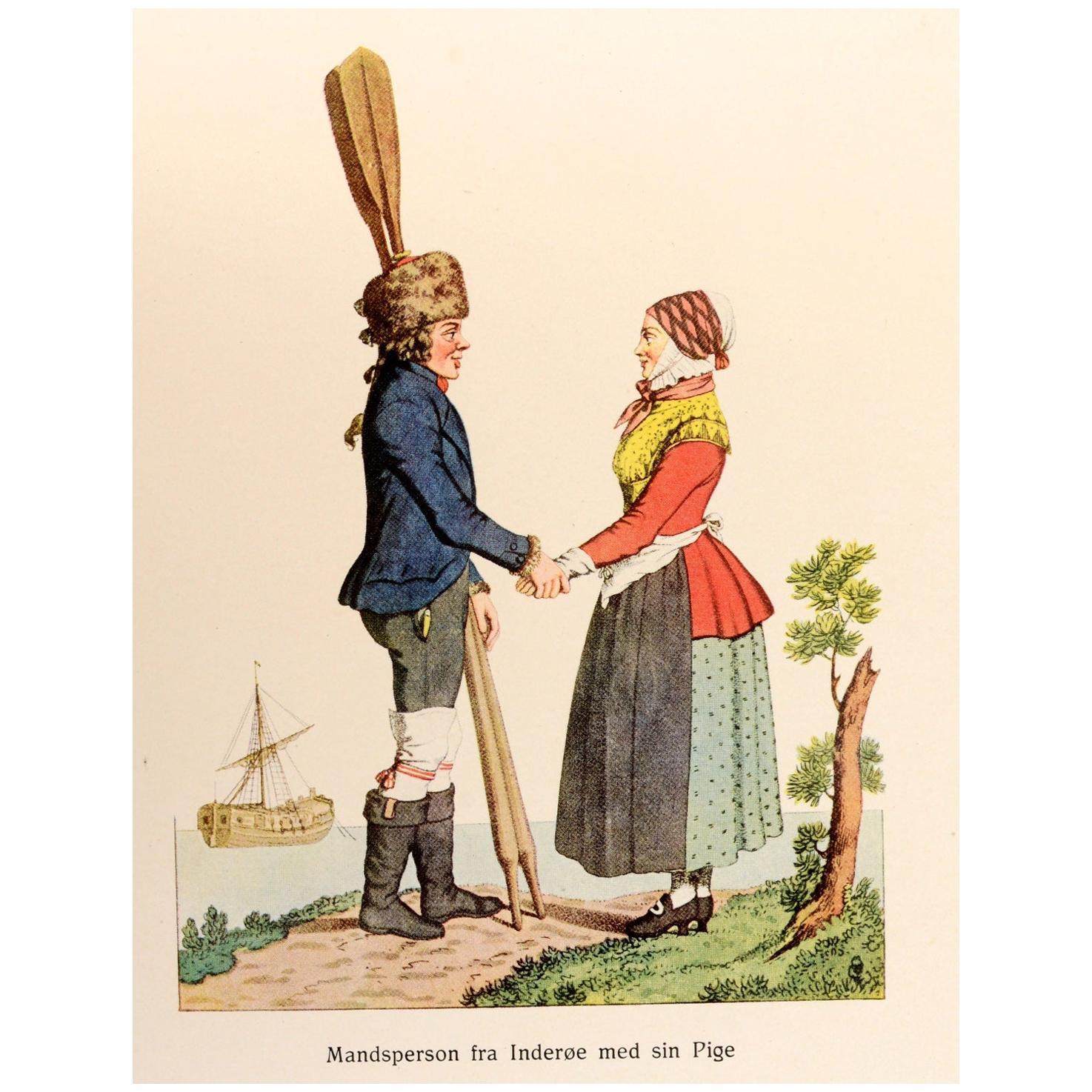 Norwegian Folk Costumes 'Norske Folkedragter' 1st Edition