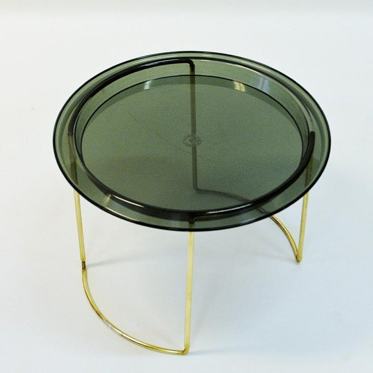 Norwegian Midcentury Round Table by Hermann Bongard, 1960s For Sale 7