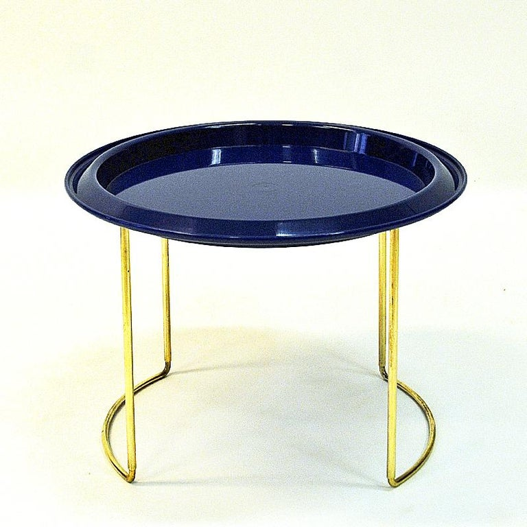 Norwegian Midcentury Round Table by Hermann Bongard, 1960s For Sale 2