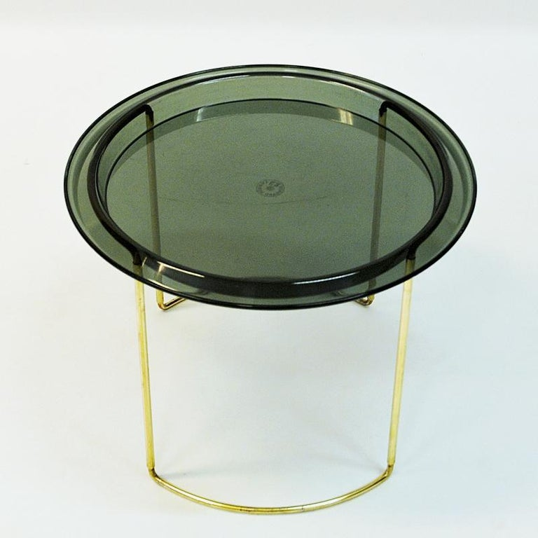 Norwegian Midcentury Round Table by Hermann Bongard, 1960s For Sale 3