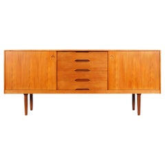 Norwegian Modern Teak Credenza by Alf Aarseth
