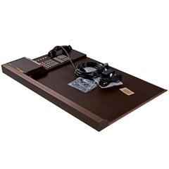 NOS Bynamics Leather Desk Director Phone System Six Hundred, 1985