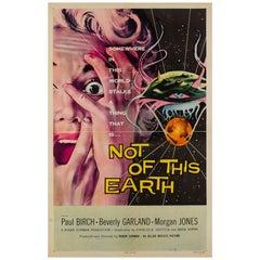 Not of This Earth Original US Film Poster, Albert Kallis, 1957