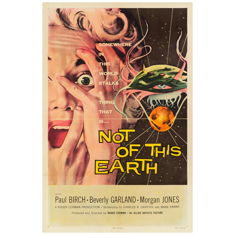 'Not Of This Earth' Original US One Sheet Movie Poster by Albert Kallis, 1957