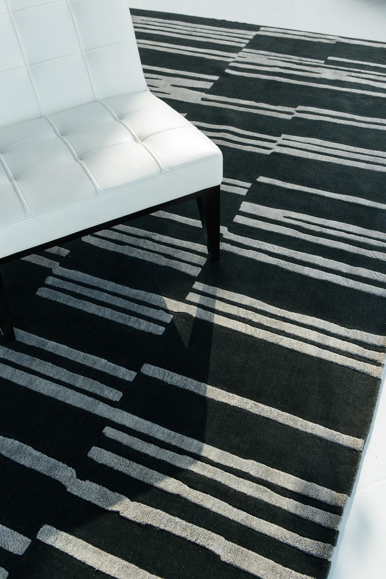 Modern Notes, Design Rhymes by Mehraban Rugs For Sale
