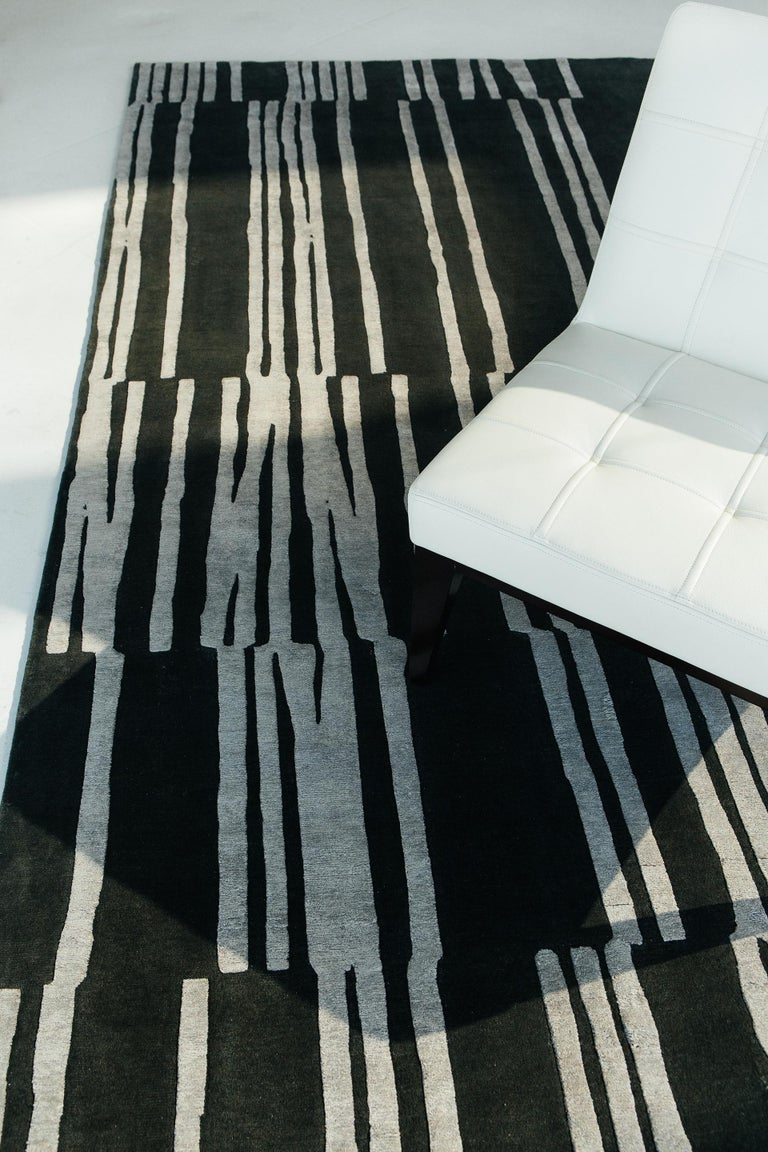 Contemporary Notes, Design Rhymes by Mehraban Rugs For Sale