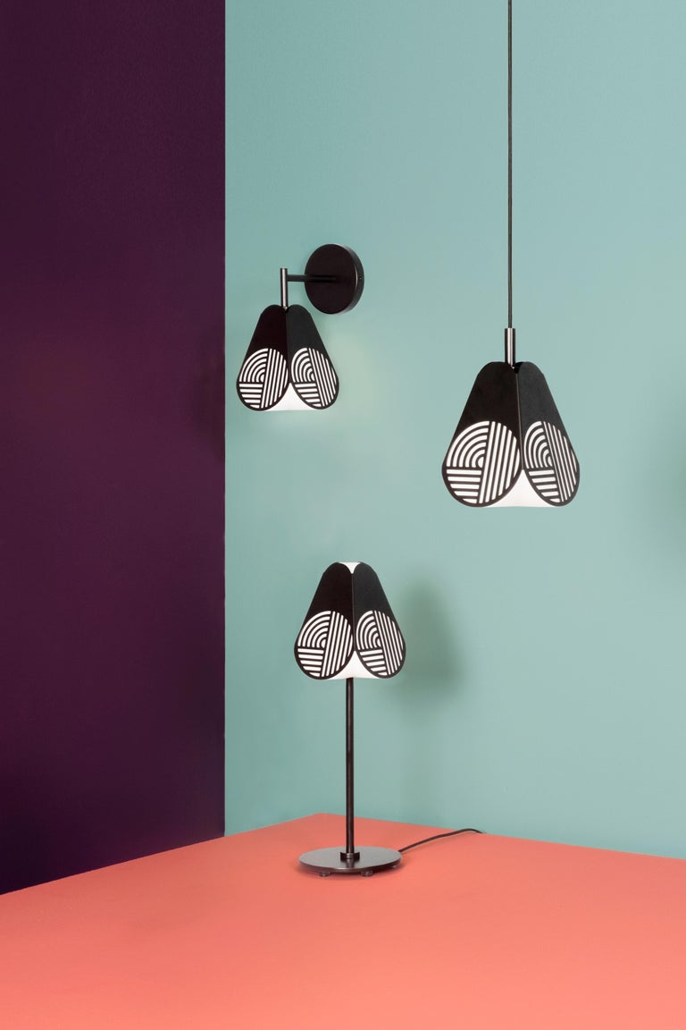 Swedish Notic Sconce Lamp by Bower Studio For Sale