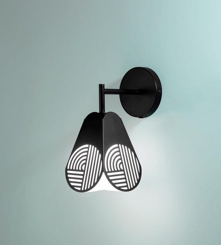 Notic Sconce Lamp by Bower Studio In New Condition For Sale In Geneve, CH