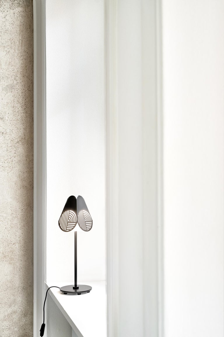 Modern Notic Table Lamp by Bower Studio For Sale