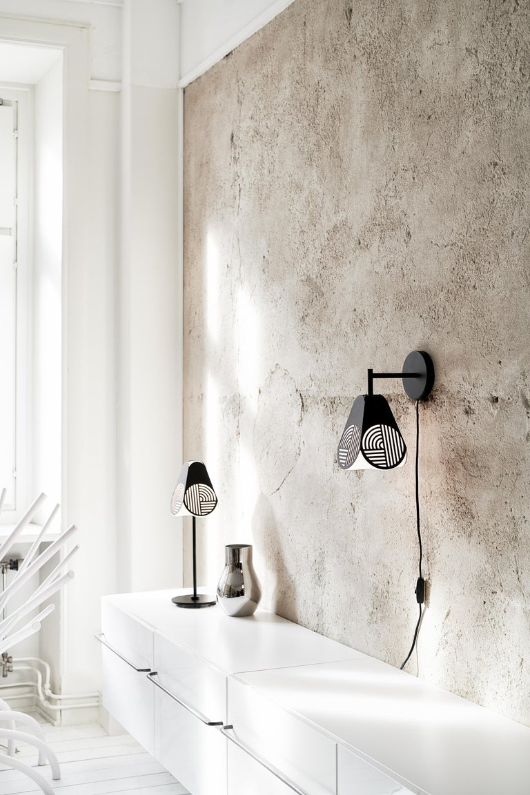 Swedish Notic Table Lamp by Bower Studio For Sale