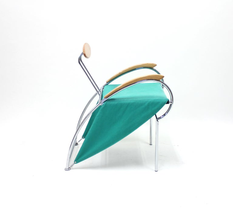 Notorious Chair by Massimo Iosa Ghini for Moroso, 1988 For Sale 3