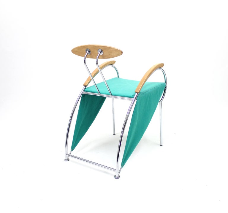 Notorious Chair by Massimo Iosa Ghini for Moroso, 1988 For Sale 4