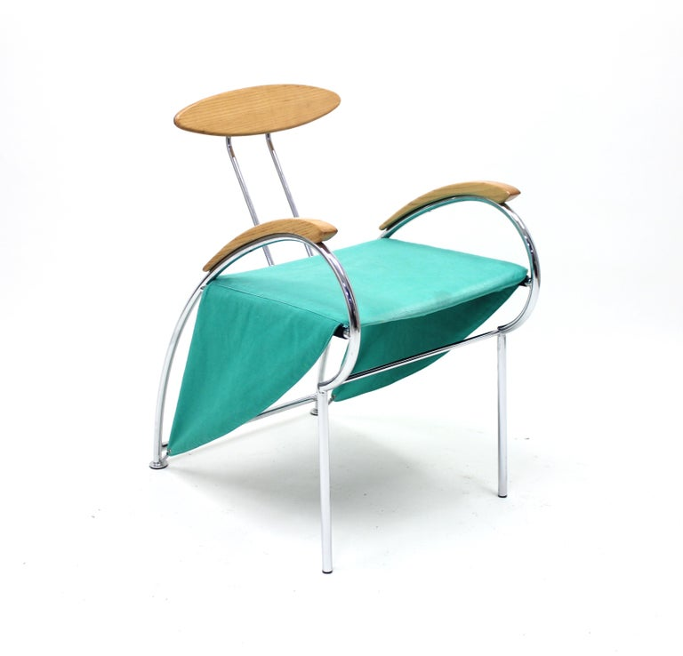 Post-Modern Notorious Chair by Massimo Iosa Ghini for Moroso, 1988 For Sale
