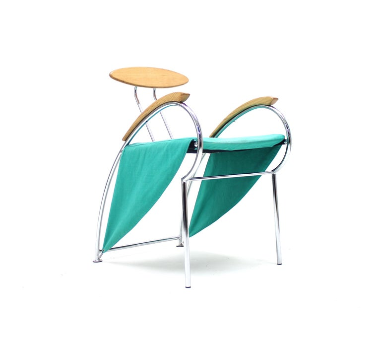 Italian Notorious Chair by Massimo Iosa Ghini for Moroso, 1988 For Sale