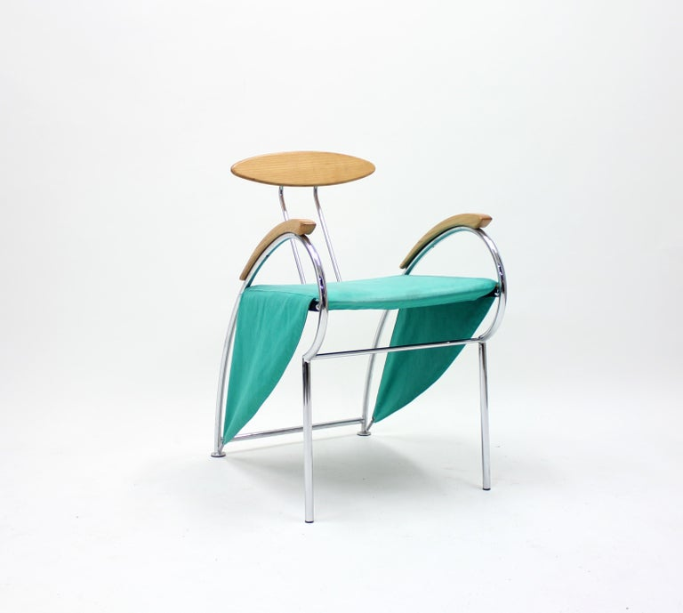 Notorious Chair by Massimo Iosa Ghini for Moroso, 1988 In Good Condition For Sale In Uppsala, SE