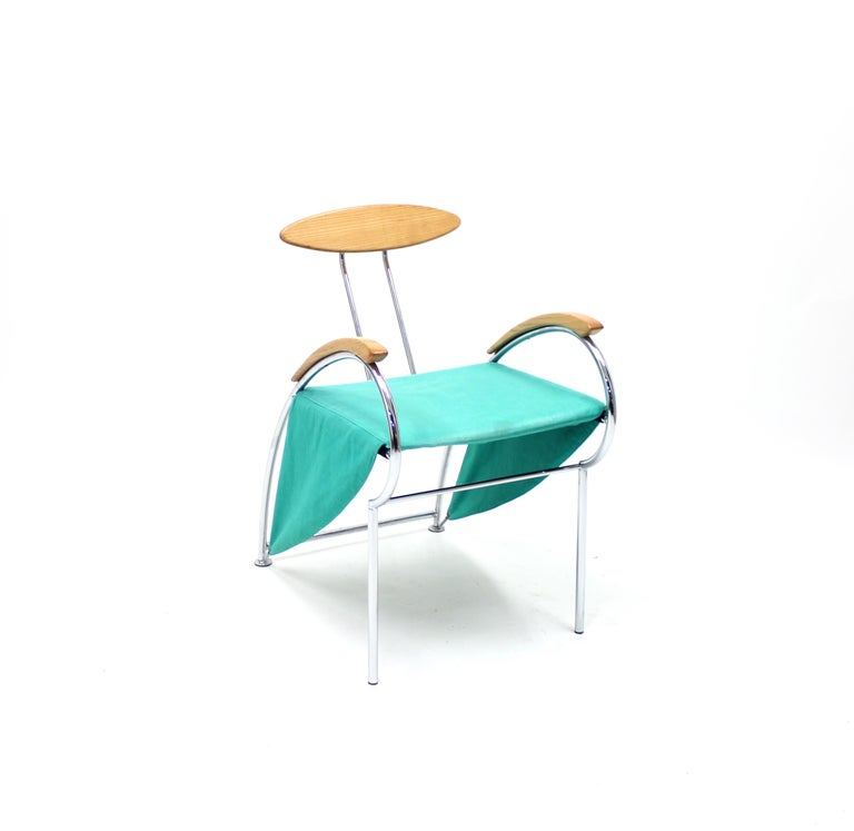 Late 20th Century Notorious Chair by Massimo Iosa Ghini for Moroso, 1988 For Sale