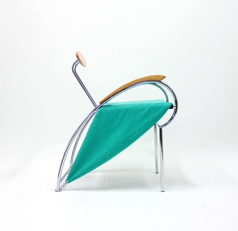 Notorious Chair by Massimo Iosa Ghini for Moroso, 1988 For Sale 2