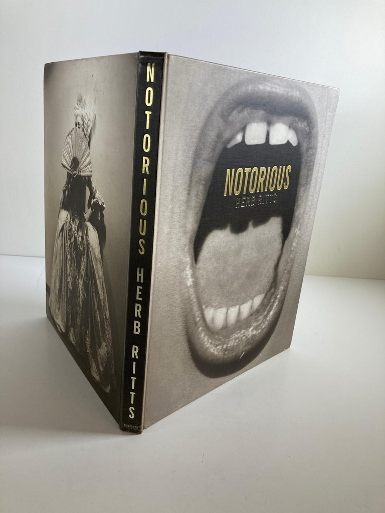 Modern Notorious Hardcover Book by Herb Ritts