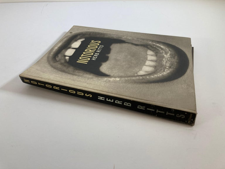 Modern Notorious Hardcover Book by Herb Ritts For Sale