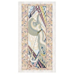Notos - Designer Contemporary Hand Knotted Wool Silk Rug