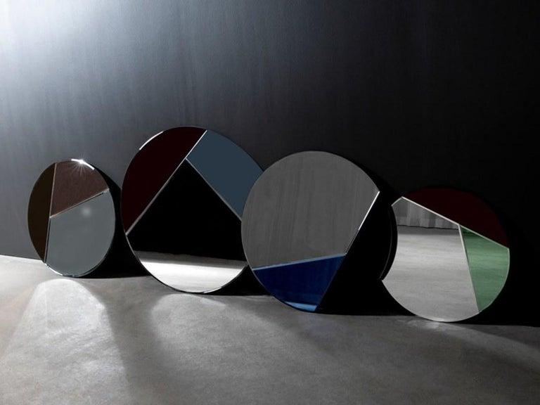 Post-Modern Nouveau Design Colorful Mirror For Sale