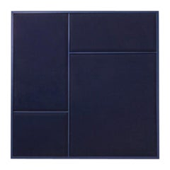 Nouveau Medium Pin Board in Navy Blue & Navy Blue Frame by All The Way To Paris