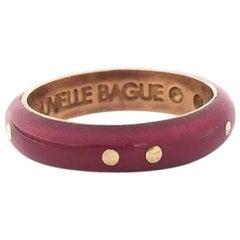 Nouvelle Bague Enamel and Gold Ladies Ring A1963CLN