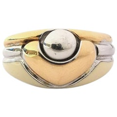 Nouvelle Bague Enamel and Gold Ladies Ring A516BN