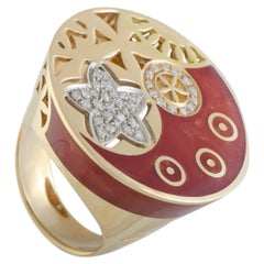 Nouvelle Bague India Preziosa 18 Karat Rose and White Gold Ring