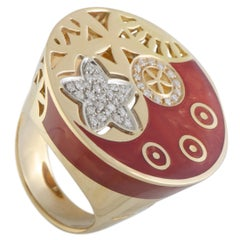 Nouvelle Bague India Preziosa 18 Karat Rose and White Gold Ring