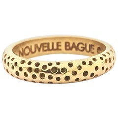 Nouvelle Bague Yellow Gold Ladies Band A1953