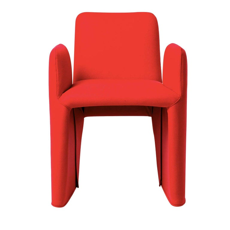 Nova OW Chair with Armrests by Federico Carandini For Sale