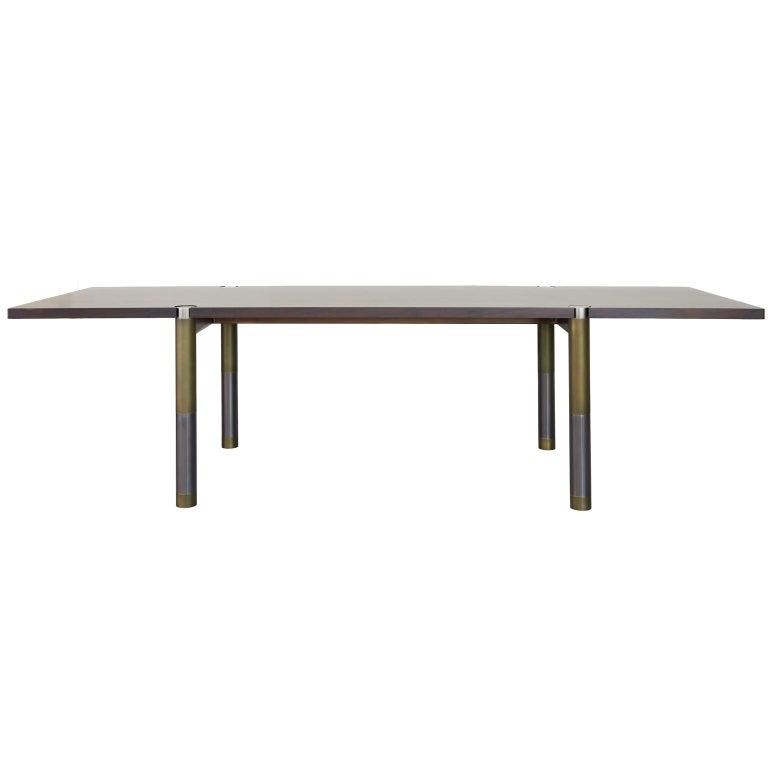 American Nova Round Marble Dining Table by AVRAM RUSU STUDIO For Sale