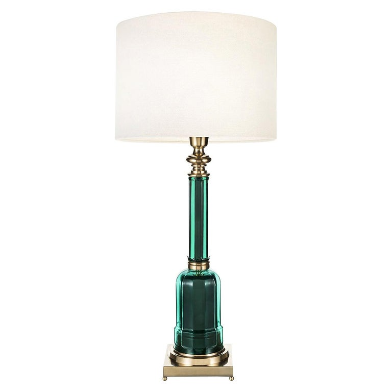 Novecento Lamp Timeless Line Green For Sale