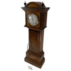Novelty Antique English Letters / Postal / Mail Box, Longcase Clock Form, c.1910