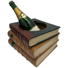 Novelty Book Shaped Champagne Ice Bucket Holder