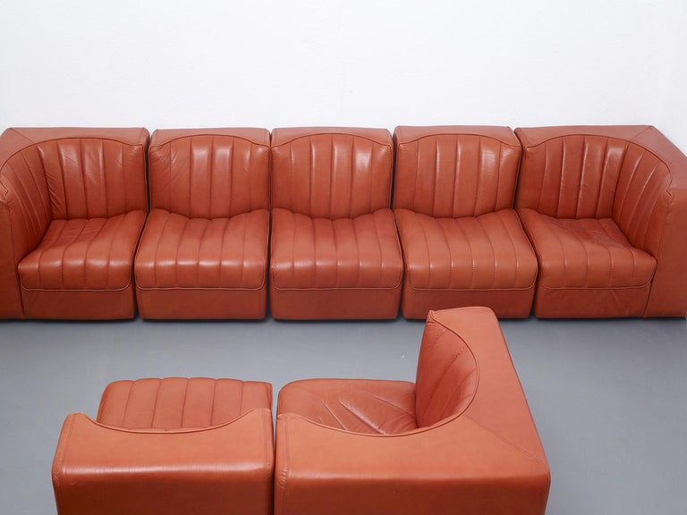 Large modular sofa from the Novemila (9000) series by Tito Agnoli for Arflex, Italy, 1969.