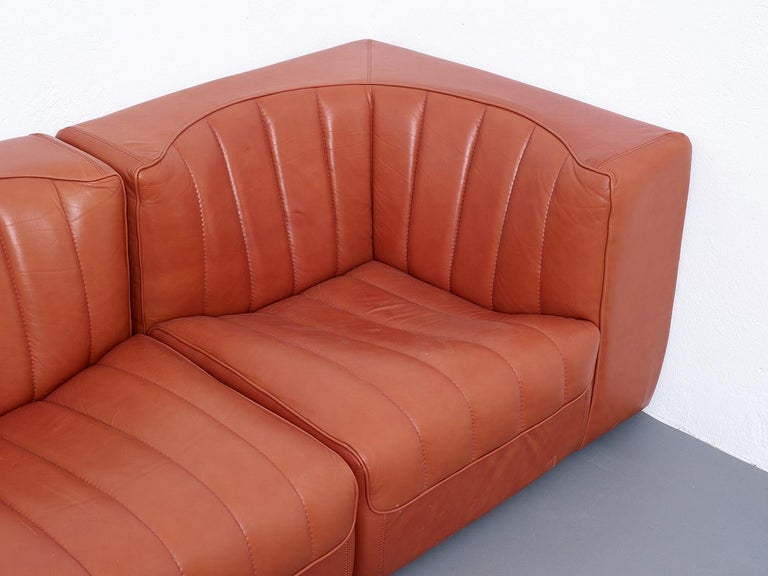 Novemila Leather Sofa by Tito Agnoli, Arflex, Italy, 1969 For Sale 4