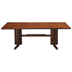 Novo Rumo Dining Table in Exotic Hardwood