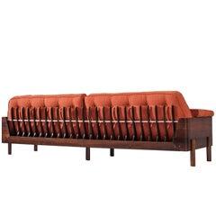 Novo Rumo Large Rosewood Sofa