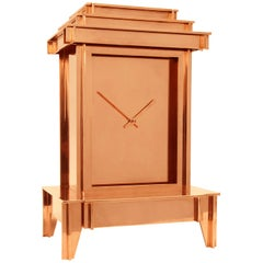 NSNG One More Time Clock Copper-Plated