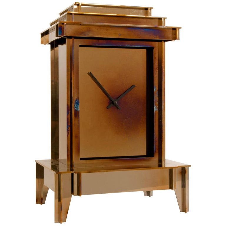 NSNG One More Time Clock Heated Stainless Steel For Sale