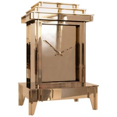 NSNG One More Time Clock Nickel-Plated