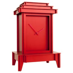NSNG One More Time Clock Red